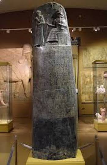 The Code of Hammurabi – The Code of Hammurabi is inscribed with 282 ancient Babylonian laws
