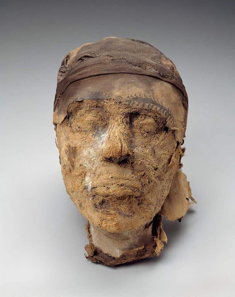 Head of Djehutymakht - Satan distracted mankind with the preoccupation of death and the fear associated with it. The Egyptians mummified their dead because of the beliefs they had with death and the belief in the afterlife.