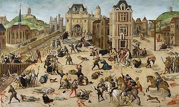 """""""Saint"""" Bartholomew's Day Massacre - The history is stained with the blood of religiously backed strife."""