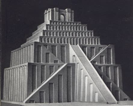 Ziggurats: Towers of this type were used in religious worship. Because of their great height they would dominate the surrounding area and give attention to the chief god of the city. How has this type of building affected religious architecture today?