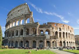 Colosseum - The Colosseum is one of the most famous of Rome's ancient monuments, symbol of its former glory and a witness of brutal gladiatorial games. The Colosseum was built by the labor of Jews who had been taken to Rome as slaves when Jerusalem was devastated.
