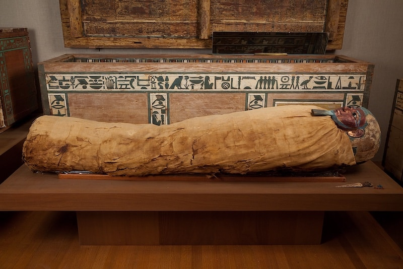 Mummies: Mummies found in Egypt confirm the complex and false beliefs that the Egyptians had in the Afterlife and how Jehovah's people were not a part of these beliefs.