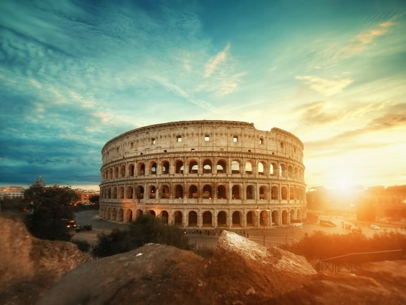 Virtual tour: Rome in Bible History